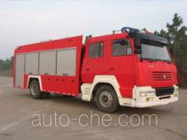 海潮牌BXF5191GXFPM80型泡沫消防车