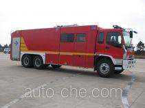 海潮牌BXF5240GXFPM110W型泡沫消防车