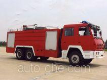 海潮牌BXF5250GXFPM110型泡沫消防车