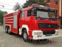 海潮牌BXF5251GXFPM110型泡沫消防车
