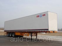 Bingxiong BXL9401XBW insulated van trailer