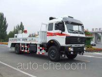 北方重工牌BZ5150THB型车载式混凝土泵车
