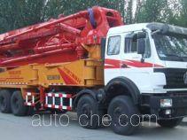 北方重工牌BZ5380THB型混凝土泵车