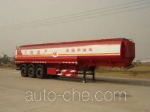 北方重工牌BZ9400GYY型运油半挂车