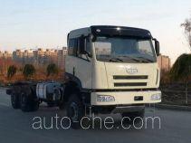 Шасси дизельного бескапотного грузовика 6х6