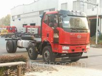 FAW Jiefang CA3250P62K1L1BT3E4 diesel cabover dump truck chassis