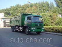 Huakai CA3251P1K2B2T diesel dump truck