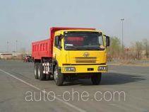 FAW Jiefang CA3253P7K1T1E diesel 6x4 cabover dump truck
