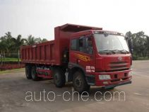 FAW Jiefang CA3310P1K15L3T4NA80 natural gas cabover dump truck
