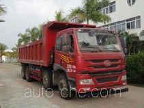 FAW Jiefang CA3310P1K15L3T4NE5A80 natural gas cabover dump truck