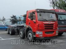 FAW Jiefang CA3310P1K2L2T4BE4A80 diesel cabover dump truck chassis