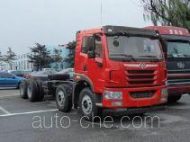解放牌CA3310P1K2L2T4BE4A80型平头柴油自卸汽车底盘