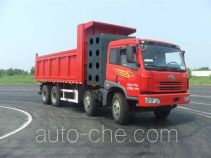 Gas cabover dump truck
