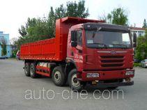 FAW Jiefang CA3312P2K2L6T4NE5A80 natural gas cabover dump truck