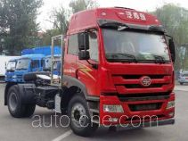 FAW Jiefang CA4180P1K15NA80 natural gas cabover tractor unit