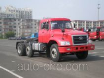 FAW Jiefang CA4250K2R5T3EX container carrier vehicle