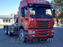 FAW Jiefang CA4250P1K15T1NE5A82 natural gas cabover tractor unit