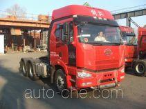 FAW Jiefang CA4250P66K24T1A1E4Z dangerous goods transport tractor unit