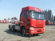 FAW Jiefang CA4250P66K2T1A1E4X container transport tractor unit