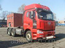 FAW Jiefang CA4250P66K2T1A1HE4X dangerous goods transport tractor unit