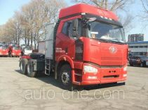 FAW Jiefang CA4250P66T1A3E24M5 natural gas cabover tractor unit