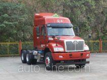 FAW Jiefang CA4256K2E4R5T1A92 dangerous goods transport tractor unit