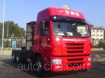FAW Jiefang CA4257P2K15T1NE5A80 dangerous goods transport tractor unit