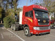 FAW Jiefang CA4257P2K15T1NA80 natural gas cabover tractor unit