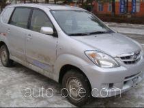 FAW Jiaxing CA5021XXYA5 box van truck