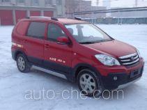 FAW Jiaxing CA5021XXYA6 box van truck