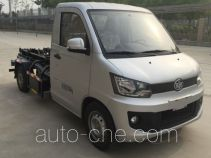 FAW Jiefang electric hooklift hoist garbage truck