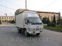 FAW Jiefang CA5030CPYK11L1E4 soft top box van truck