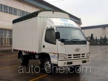FAW Jiefang CA5030CPYK2L3E4-1 soft top box van truck