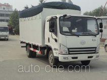 FAW Jiefang CA5031CPYP40K2L1E4A85-2 soft top box van truck