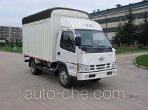FAW Jiefang CA5040CPYK11L1E4-1 soft top box van truck