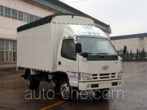 FAW Jiefang CA5040CPYK11L2E4-1 soft top box van truck
