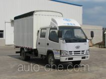 FAW Jiefang CA5040CPYK11L2RE4-1 soft top box van truck