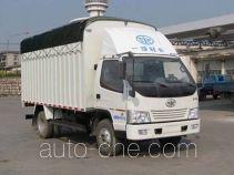 FAW Jiefang CA5040CPYK35L3E4 soft top box van truck
