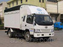 FAW Jiefang CA5040CPYK35L3R5E4 soft top box van truck
