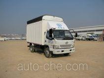 FAW Jiefang CA5040CPYK6L3E4-2 soft top box van truck