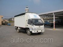 FAW Jiefang CA5040XXBK6L3E3-1 soft top box van truck
