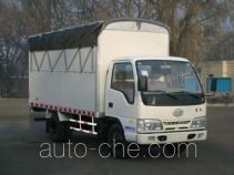 FAW Jiefang CA5041CPYK26L3E4 soft top box van truck