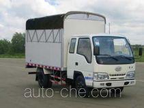 FAW Jiefang CA5041CPYK26LR5E4 soft top box van truck