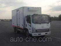 解放牌CA5042XLCP40K2L1E4A84型冷藏车