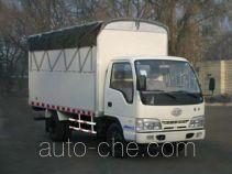 FAW Jiefang CA5041XXBK26L2-3D soft top box van truck