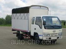 FAW Jiefang CA5041XXBK26L3R5-3C soft top box van truck