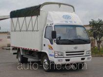 FAW Jiefang CA5042XXBPK26L2-3D soft top box van truck