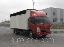 FAW Jiefang CA5043CPYPK45L2E4 soft top box van truck