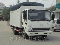 FAW Jiefang CA5045CPYP40K2L1EA84-2 soft top box van truck
