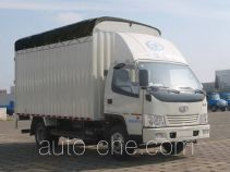 FAW Jiefang CA5070XXBK6L3E3 soft top box van truck